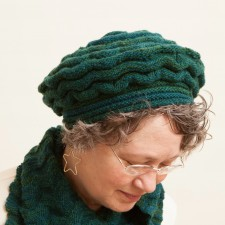 Welted Waves Hat