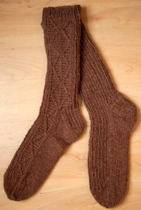 brown socks cropped