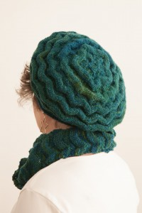 Back view of hat