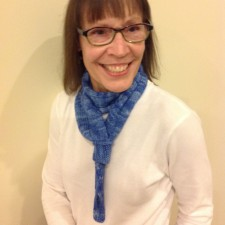 Blue Perfect Pich Scarf 1