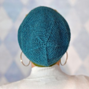 Garter Geometry Hat #3 cropped