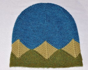 Garter Geometry Hat unmodeled